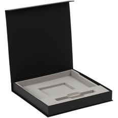 Коробка Memoria под ежедневник и ручку, черная фото