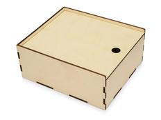 Коробка пенал деревянная, L, светлое дерево фото