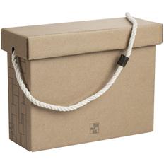 Коробка подарочная Very Marque, малая, крафт фото