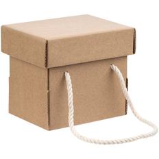 Коробка с длинными ручками для кружки Kitbag, крафт фото