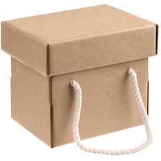 Коробка с короткими ручками для кружки Kitbag, крафт фото