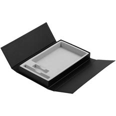 Коробка Three Part под ежедневник, флешку и ручку, черная фото