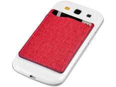 Кошелек для телефона RFID, красный фото
