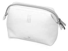 Косметичка в виде сумочки, белый фото