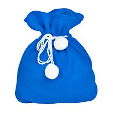 Костюм карнавальный Снеговик в мешке, синий фото