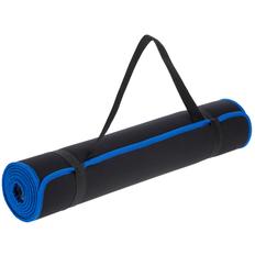 Коврик для йоги и активного отдыха Stride Karmatta, черный/ синий фото