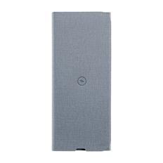 Коврик для мыши многофункциональный с беспроводным зарядным устройством Powerfolio, серый фото