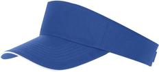 Козырек ACE, ярко-синий с белым фото