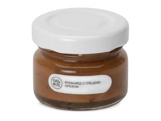 Крем-мёд с грецким орехом Eat & Bite, белый/ прозрачный фото