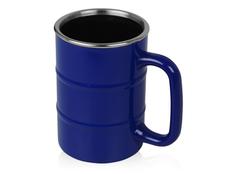 Кружка Баррель, синий фото