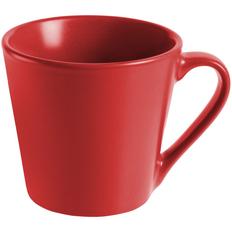 Кружка Modern Bell матовая, красная фото
