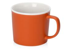 Кружка Nancy, 360 мл, оранжевая / белая фото