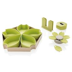 Набор кухонный Eco из 4 предметов, зеленый фото