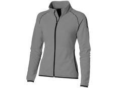 Куртка из микрофлиса женская Slazenger Drop Shot, серая фото
