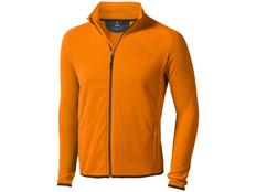 Куртка флисовая мужская Elevate Brossard, оранжевая фото