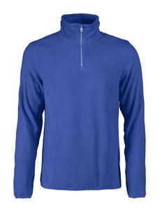Кофта флисовая мужская James Harvest Frontflip, синяя фото