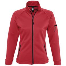 Куртка флисовая женская Sol's New Look Women 250, красная фото