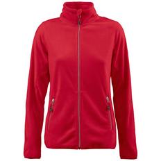 Куртка флисовая женская James Harvest Twohand, красная фото