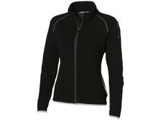 Куртка из микрофлиса женская Slazenger, черная фото