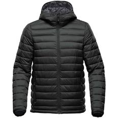 Куртка компактная с капюшоном мужская Stormtech Stavanger, чёрная фото