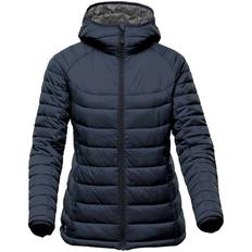 Куртка компактная женская Stormtech Stavanger, темно-синяя фото