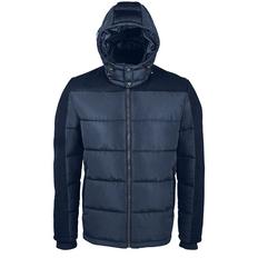 Куртка мужская Sol's Reggie, темно-синяя фото