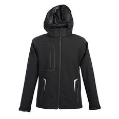 Куртка софтшел мужская JRC Artic, чёрная фото