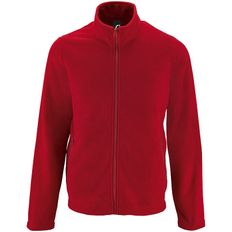 Куртка мужская Sol's Norman, красная фото