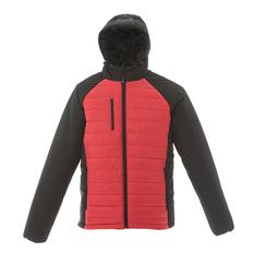 Куртка мужская JRC Tibet, чёрная/ красная фото