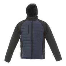 Куртка мужская JRC Tibet, чёрная/ синяя фото