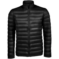 Куртка мужская Sol's Wilson Men, черная фото