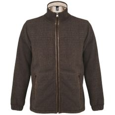 Куртка мужская Sol's Nepal, коричневая фото