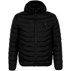Куртка с подогревом Thermalli Chamonix, черная фото