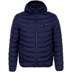 Куртка с подогревом Thermalli Chamonix, темно-синяя фото