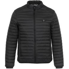 Куртка с подогревом Thermalli Meribell, черная фото