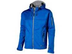 Куртка софтшел мужская Slazenger Match, серая фото