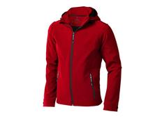 Куртка софтшел мужская Elevate Langley, красная фото