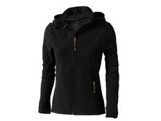 Куртка софтшел женская Elevate Langley, черная фото