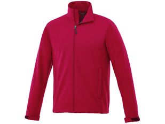 Куртка софтшел мужская Elevate Maxson, красная фото