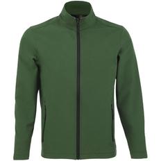 Куртка софтшелл мужская Race Men, темно-зеленая фото