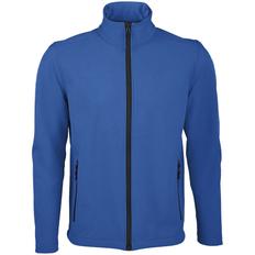 Куртка софтшелл мужская Sol's Race Men, ярко-синяя (royal) фото