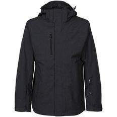 Куртка-трансформер с капюшоном на молнии мужская Stormtech Avalanche, темно-серая фото