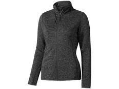 Куртка трикотажная женская Elevate Tremblant, темно-серая фото