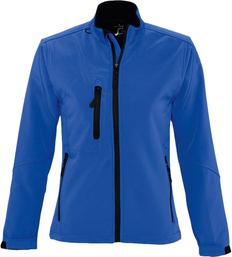 Куртка на молнии женская Sol's Roxy 340, ярко-синяя фото