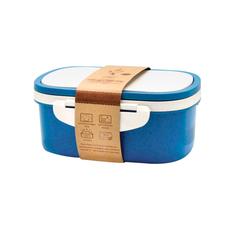 Ланч-бокс со вставкой Paul, 1000 мл, синий фото