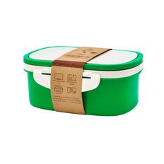 Ланч-бокс со вставкой Paul, 1000 мл, зеленый фото