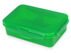 Ланчбокс Foody с двумя секциями, зелёный фото