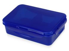 Ланч-бокс Foody с двумя секциями, синий фото