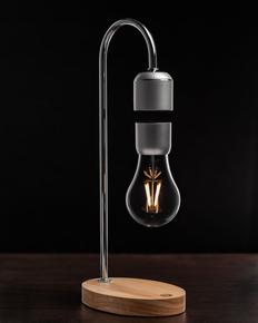 Левитирующая лампа FireFlow, серебристый/бежевый фото