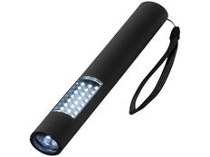 Магнитный фонарик, черный фото